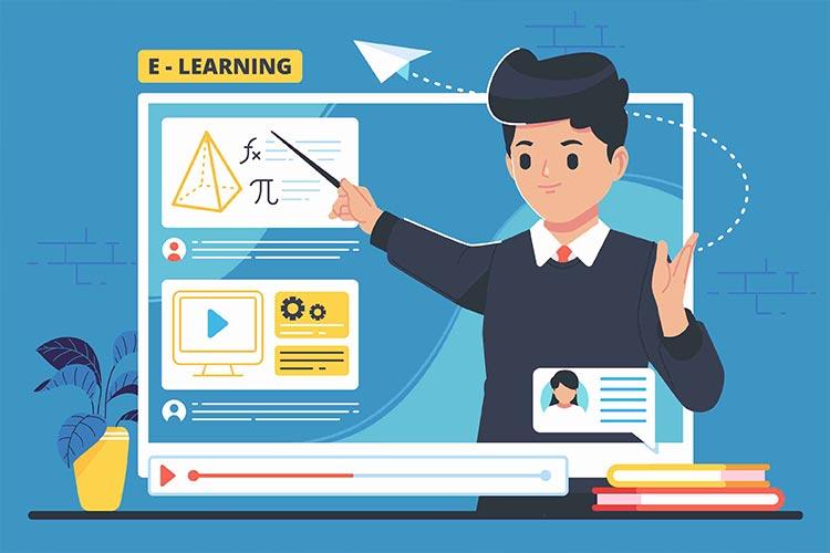 les differents types de e learning